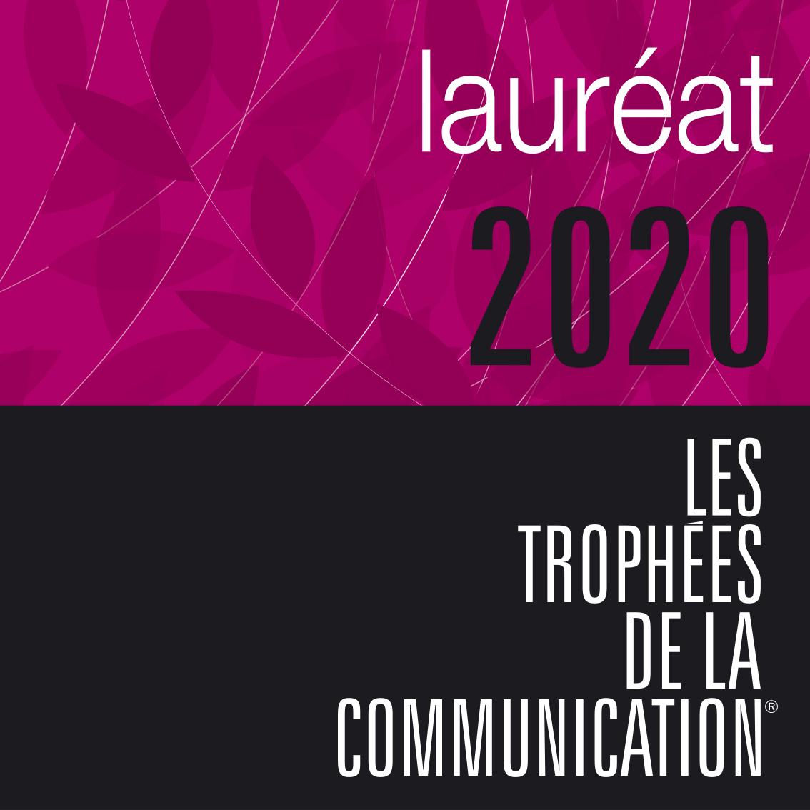 Logo Lauréat 2020